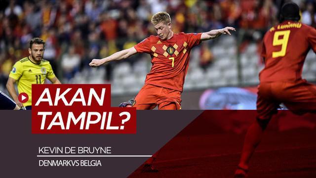 Berita video Kevin De Bruyne diprediksi akan tampil melawan Denmark dan permudah Belgia lolos ke 16 besar Euro 2020