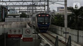 MRT Jakarta Uji Coba Troli Sepeda, Intip Syarat-syaratnya