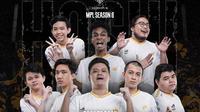 RRQ Hoshi juara MPL ID Season 6. (Dok. Instagram/Team RRQ)