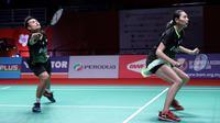 Hafiz Faizal/Gloria Emanuelle Widjaja di Malaysia Masters 2020. (PBSI)
