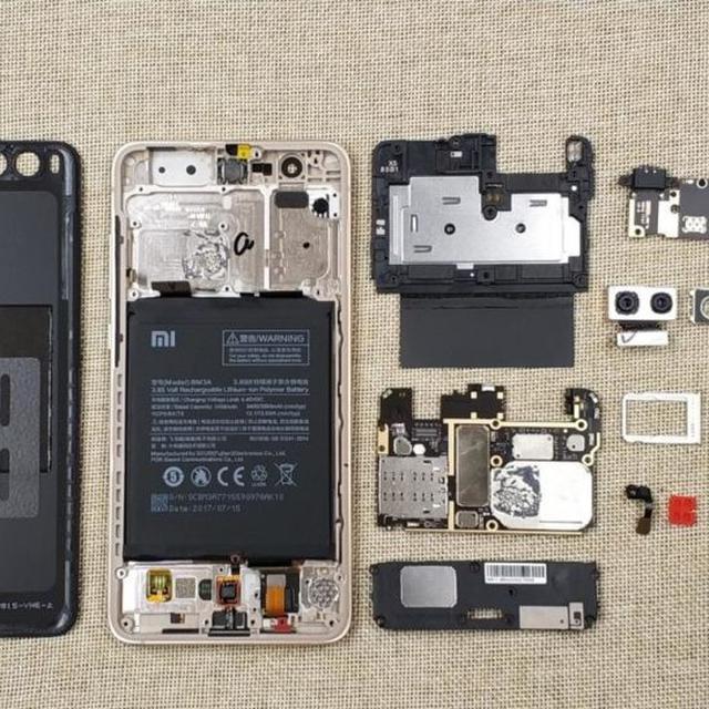 Melihat Isi Komponen Xiaomi Mi Note 3 Saat Dibongkar Tekno Liputan6 Com