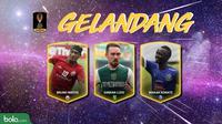 Trivia Gelandang Terbaik Piala Presiden Versi Bola.com (Bola.com/Adreanus Titus)