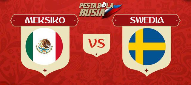 Berita video head-to-head Piala Dunia Rusia 2018: Meksiko vs Swedia.