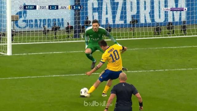 Juventus berhasil bangkit dari kekalahan di pertemuan pertama dengan sukses mengeliminasi Tottenham dengan agregat 4-3 di babak 16...