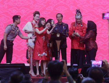 Jokowi Hadiri Perayaan Imlek Nasional 2019