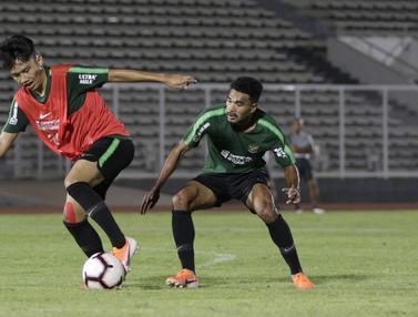 Latihan Timnas Indonesia U-22