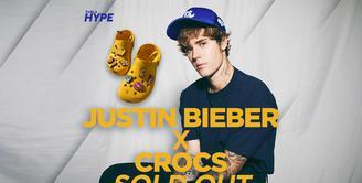 Koleksi Justin Bieber x Crocs Ludes Terjual dalam 90 Menit