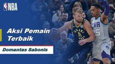 Berita Video Domantas Sabonis Bawa Indiana Pacers Menang Atas Charlotte Hornets 119-80