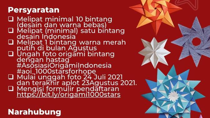Program 1000 Bintang Harapan / 1000 Stars For Hope.