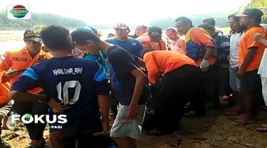 Diduga tak bisa berenang, dua bocah SD di Banyumas hanyut saat sedang mandi di Sungai Serayu, yang saat itu sedang dalam kondisi banjir.
