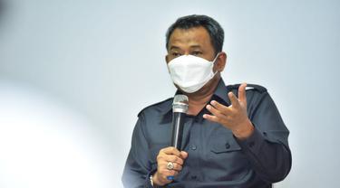 Kepala Dispendik Surabaya Supomo. (Dian Kurniawan/Liputan6.com)
