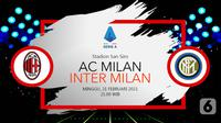 AC Milan vs Inter Milan (liputan6.com/Abdillah)