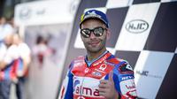 Pembalap Pramac Racing, Danilo Petrucci resmi jadi pengganti Jorge Lorenzo di Ducati mulai MotoGP 2019. (Twitter/Ducati Motor)
