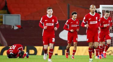 Foto Liga Inggris: Bermain di Anfield, Liverpool Ditahan Imbang West Bromwich Albion