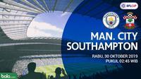 Piala Liga Inggris - Manchester City Vs Southampton (Bola.com/Adreansu Titus)