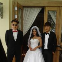 Kevin Julio, Jessica Mila dan Fendy Chow. Foto: Instagram (@poploli097)