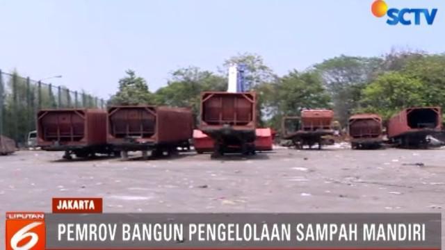 Pembangunan Intermediate Treatment Facility (ITF) di Sunter, Jakarta Utara, menjadi salah satu solusi untuk mengelola sampah secara mandiri.