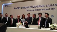 Rapat Umum Pemegang Saham PT Astra International Tbk, Jakarta, Rabu (25/4/2018). (Anggun P. Situmorang/Merdeka.com)