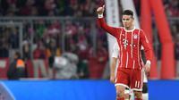 James Rodriguez mendapat pujian dari Jupp Heynckes. (doc. Bayern Munchen)