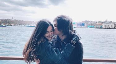 5 Bulan Menikah, Ini 6 Momen Honeymoon Kevin Aprilio dan Vicy Melanie di Turki