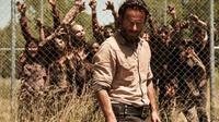 tempat sembunyi dari serangan zombie di film The Walking Dead