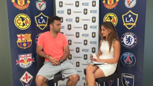 Giuseppe Rossi striker Fiorentina beberkan rahasia dirinya dalam sesi wawancara untuk International Champions Cup.