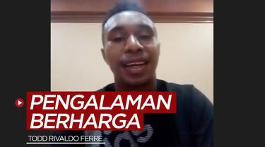 Berita video wonderkid Persipura Jayapura, Todd Rivaldo Ferre, berbagi pengalaman berharga saat sempat dipinjamkan ke klub Liga Thailand, Lampang FC.