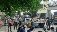Sidang vonis kasus pelanggaran protokol kesehatan di Petamburan, Jakarta dan Megamendung, Bogor, dengan terdakwa Rizieq Shihab digelar pada Kamis (27/5/2021) di Pengadilan Negeri Jakarta Timur.