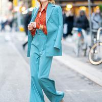 Trouser Suit/Hellomagazine