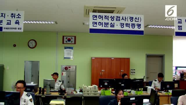 Satu keluarga di Korea Selatan diserang pria tak dikenal. Pria itu menggigit anggota keluarganya hingga terluka.