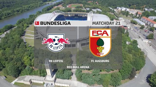 Berita Video Melihat Laga Seru Antara RB Leipzig Melawan Augsburg di Bundseliga Pekan 21 (13/02/2021)