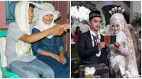 Awalnya Hanya Becandaan Saat SMP, Akhirnya Pasangan Ini Nikah Beneran (sumber:Facebook/Agus Gunawan)
