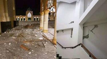 7 Potret Memilukan Kerusakan Akibat Gempa Lombok