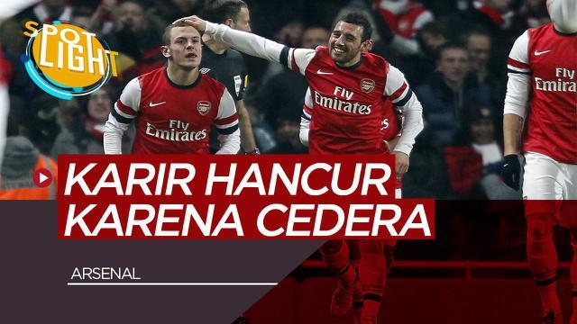 Berita Video Spotlight Jack Wilshere, Santi Cazorla dan Pemain Arsenal yang Karirnya Hancur Karena Cedera
