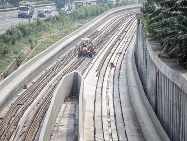 LRT Jakarta Rampung H-7 Asian Games