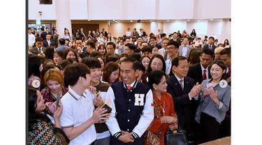 Jokowi selfie