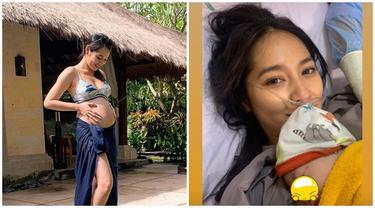 Melahirkan Anak Pertama, Ini 6 Potret Perjalanan Kehamilan Niken Anjani