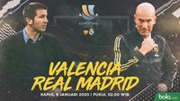 Piala Super Spanyol - Valencia Vs Real Madrid (Bola.com/Adreanus Titus)