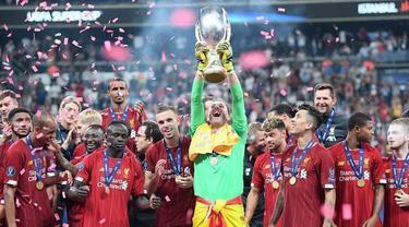 Liverpool sukses mengalahkan Chelsea pada piala Super Eropa 2019. Liverpool menundukkan Chelsea melalui drama adu penalti.