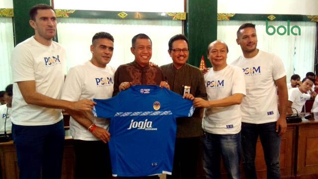 PSIM Sowan ke Wali Kota Yogyakarta, Cristian Gonzales Mencuri Perhatian – Indonesia Agenbola