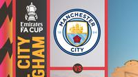Piala FA - Manchester City Vs Birmingham City (Bola.com/Adreanus Titus)