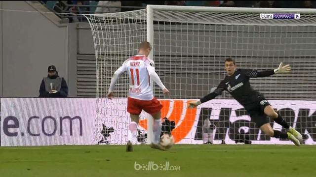 RB Leipzig mempertahankan tren positif mereka di ajang Liga Europa usai menang 2-1 atas wakil Rusia, Zenit St Petersburg di laga l...