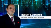 Robert Cattanach, President Director, Nokia Indonesia (Liputan6.com/Abdillah)