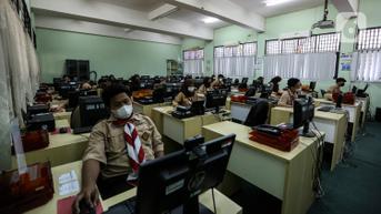FOTO: Pelaksanaan ANBK di SMK 15 Jakarta