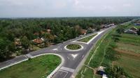 Jalan Nasional Lintas Selatan-Selatan alias Jalan Dandels, Kebumen, Jawa Tengah. (Foto: Liputan6.com/Polres Kebumen/Muhamad Ridlo)
