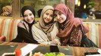 Potret Persahabatan Zaskia, Shireen, dan Bella. (Sumber: Instagram.com/zaskiasungkar15 dan Instagram.com/fenny.bauty)