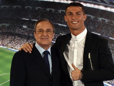Foto: Termasuk Cristiano Ronlado, 5 Pemain yang Muncul dalam Rekaman Suara Kontroversial Bos Real Madrid, Florention Perez