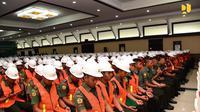 Kementerian Pekerjaan Umum dan Perumahan Rakyat (PUPR) memberikan sertifikasi kompetensi di bidang konstruksi kepada para prajurit Zeni TNI AD. Dok PUPR