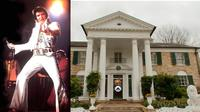 Rumah mewah milik Elvis Presley ini dijadikan markas perkumpulan penggemar Elvis Presley