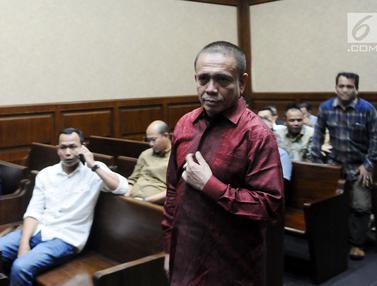 Sidang Gubernur Aceh non aktif Hadirkan Tujuh Saksi